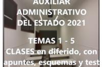 Oposición a Auxiliar Administrativo del Estado