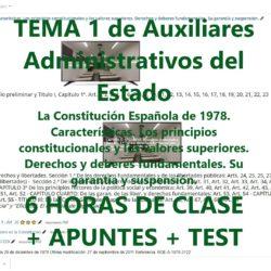 tema 1 de auxiliares administrativos del estado