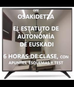 El Estatuto de Autonomía de Euskadi