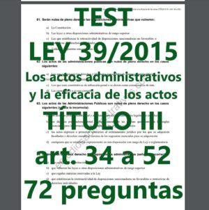 test de la ley 39/2015