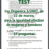 test de igualdad