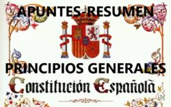 Resumen La Constitución Española