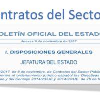 Ley 9/2017 de contratos del sector público