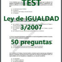 test ley de igualdad