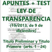 Test de la Ley de Transparencia